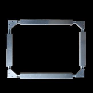 Bâti d'extension en aluminium BAL4 pour restauration de toiles - Chassitech