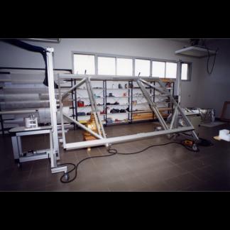 Chevalet extensible rotatif 360 degrés restauration toile Chassitech