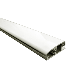 Rail mural design sécurisé Cimex+ pour suspension tableaux par câble - Chassitech