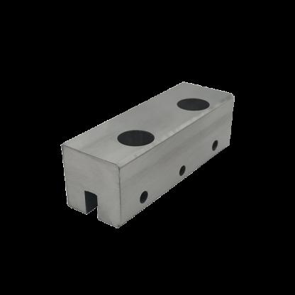 Coulisseau porte-câbles pour rails à tringles modèle double - Chassitech