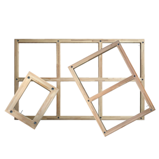 Châssis réglables en bois pour toile œuvre d'art - Chassitech