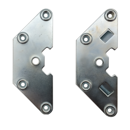 Plaques d'accrochage et de renfort gauche droite pour tableaux S2a S2b - Chassitech