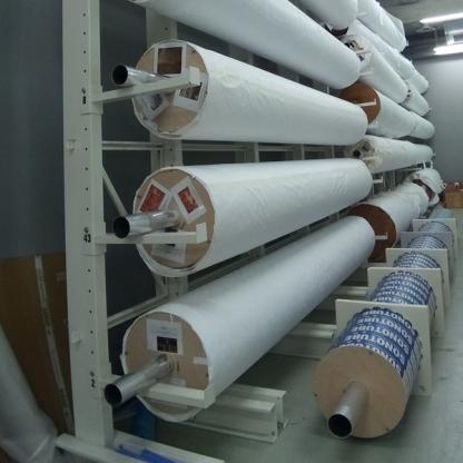 Rouleaux pour la conservation de peintures et textiles - Chassitech