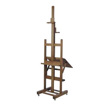 Chevalet traditionnel à crémaillère en bois Sennelier inclinable vision totale - Chassitech