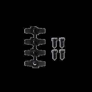 Kit de 4 verrous rotatifs pour accrochage tableaux - Chassitech