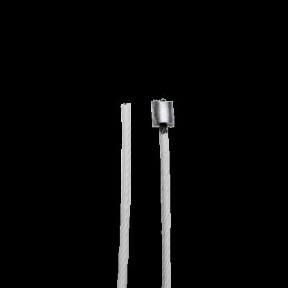 câble d'accrochage tableau thermogainé blanc 1 embout NIP07 serti - Chassitech